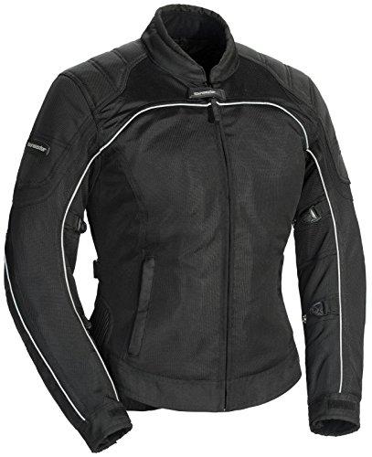 Suzuki Textile Rocket Joe (TourMaster Intake Air 4.0 Mesh Jacket For Women S Black)