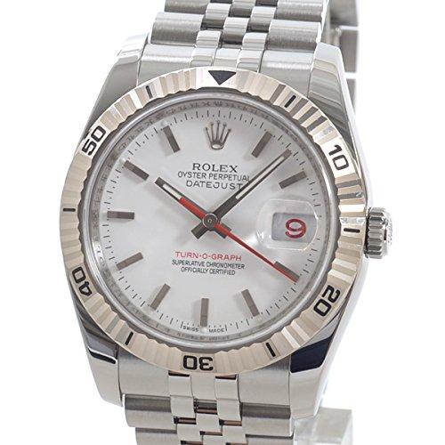 [ロレックス]ROLEX 腕時計 ターノグラフ 116264 Z番台(2005~07年) 中古[1299336] Z番台(2005~07年) ホワイト B07CTMPV8G