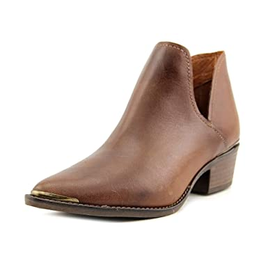 874f4c650e4 Steve Madden Tempe Women Pointed Toe Leather Brown Ankle Boot ...
