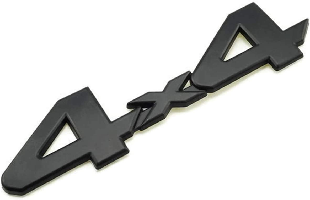 4X Tacoma V6 4X4 Trunk Car Door Tailgate Emblem Sticker Badge Decal MATTE BLACK