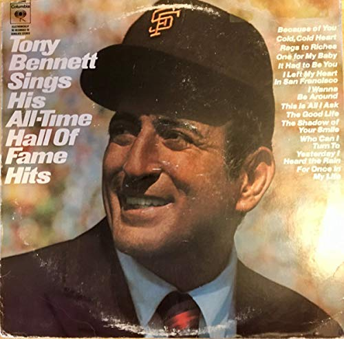 Tony Bennett: Sings His All-time Hall of Fame Hits [Vinyl Lp Record] by CBS