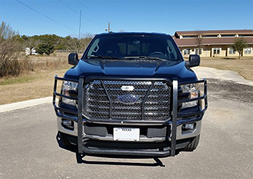 Steelcraft 50-1410C HD Grille Guards Black Supports Front Camera HD Grille - Steelcraft Guard Grill