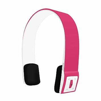 Rosa Infinity Auriculares inalámbricos Bluetooth con controles de música y llamadas de micrófono: Amazon.es: Informática