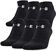 Under Armour unisex-adult Charged Cotton 2.0 No Show Socks, 6-pairs Under armour charged cotton 2.0 no show 6