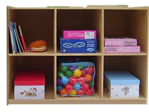 A+ Childsupply 6 Cubby Storage