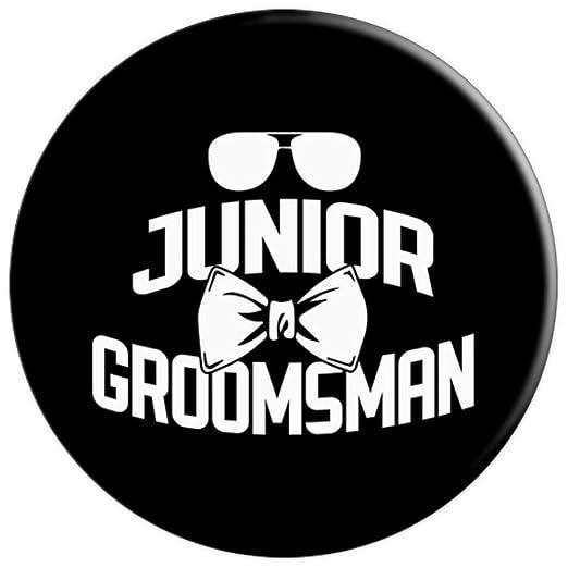 Amazon.com: Junior Groomsman Gafas de sol para boda, diseño ...
