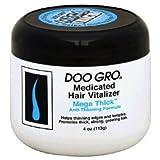 DOO GRO Hair Vitalizer Mega Thick , 4 oz (Pack of 2)