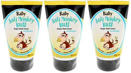 DSE Baby Anti-Monkey Butt Cream, 3 Ounce, 3 Count