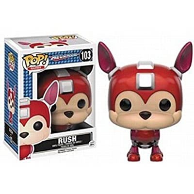 Funko POP Games: Mega Man - Rush Action Figure: Artist Not Provided: Toys & Games