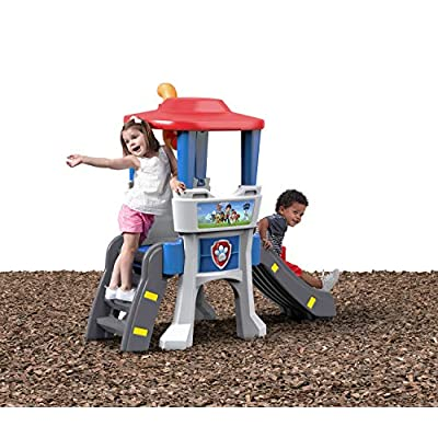 Step2 Paw Patrol Lookout Climber Slide Playset: Toys & Games