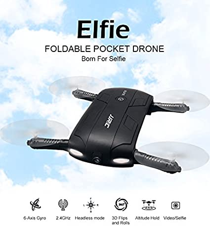 JJRC® DRON SELFIE ELFIE Wifi Camara HD: Amazon.es: Electrónica