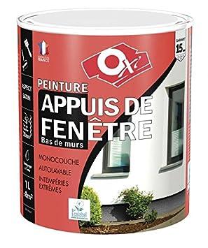 Oxy Oxsaf1gc15 Peinture Appuis De Fenêtre Gris Clair 1l Amazonfr