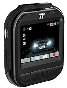 "TaoTronics Dash Cam 2K 30fps HD Super Night Vision Car Camera DVR 2"" LCD 160 Wide Angle Dashboard Recorder, Sony G-Sensor, Loop Recording, HDR, Free 32GB SD Card"
