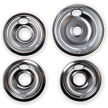 Range Kleen 11920 4x Ge Drip Pans Containing 2 Units Each