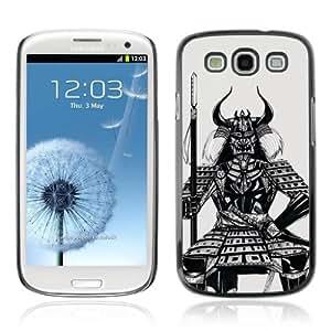 Designer Depo Hard Protection Case for Samsung Galaxy S3 / Samurai Warrior by icecream design