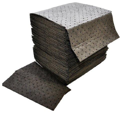 Spilfyter GFF-72 Gray Universal Premium Sorbent Medium-Weight Absorbent Pad, 18