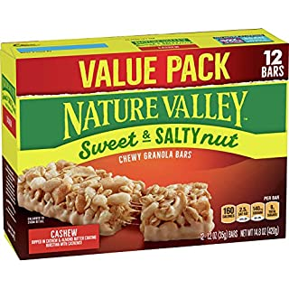 Nature Valley Granola Bars Sweet & Salty Nut, Cashew, 12 ct, 14.8 oz