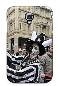 HXevy4448WVQmr Tpu Case Skin Protector For Galaxy S4 Juventus 2013 Scudetto Celebration With Nice Appearance