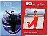 Beginners Cardio Exercise 2 DVD Set for Seniors and Boomers. Reduce Risk For Heart Disease, Burn Calories, Lose Weight, Build Stamina and Get Fit Aerobic Workouts by Mirabai Holland