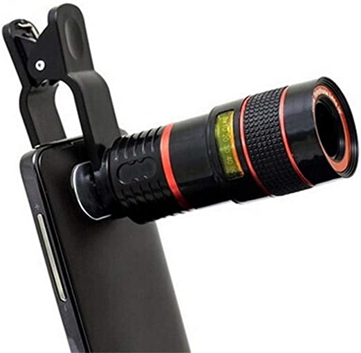 Dušial 12x Zoom Telephoto Lens Tripod for All Smart Phone Mobile ...