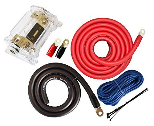 amazon com soundbox connected 0 gauge amp kit amplifier install rh amazon com 0 gauge wiring kit for sale 0 gauge wiring kit price