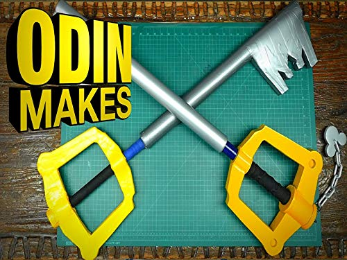 Odin Makes Boffer Keyblade From Kingdom Hearts ()