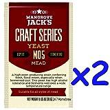 2x Mangrove Jack's Craft Series Mead Yeast M05 (10g)