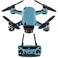 Skin for DJI Spark Mini Drone Combo - Super Squad| MightySkins Protective, Durable, and Unique Vinyl Decal wrap cover | Easy To Apply, Remove, and Change Styles | Made in the USA