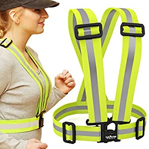 Top Quality Reflective Vest - Running, Walking, Cycling (L/XL)