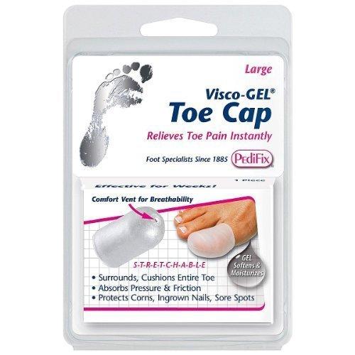 Pedifix Visco-GEL Toe Cap P80S - - Gel Pedifix Toe Visco Cap