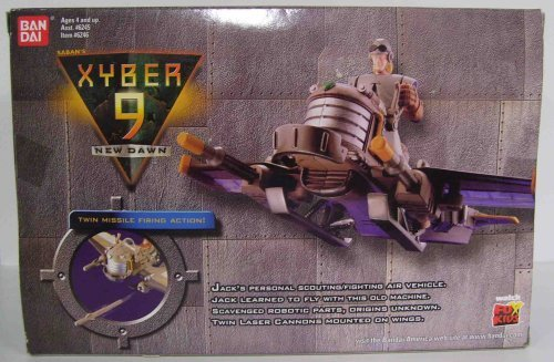 Xyber 9 Jacks Scout Glider Vehicle with Jack Action Figure