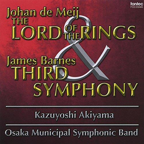 Municipal Band - Johan De Meij ''The Lord Of The Rings'' & James Barnes Third Symphony