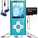 MP3 Player / MP4 Player, Hotechs MP3 Music Player Slim Classic Digital LCD 1.82'' Screen Mini USB Port with FM Radio, Voice Record ¡­
