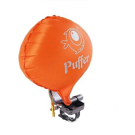 PUFFER Portátil Salvavidas Pulsera, Anti ahogamiento Pulsera Flotador natación Pulsera de Seguridad con CO2 Cilindro