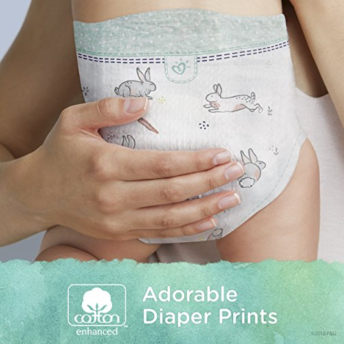 Diapers Size 4, 92 Count - Pampers Pure Disposable Baby Diapers, Hypoallergenic and Fragrance Free Protection with Aqua Pure 4X Pop-Top Sensitive Water Baby Wipes, 224 Ct. by Pampers (Image #6)