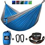 ---------------------------------------- THE OUTDOORS IS YOURS! ---------------------------------------- With the ProVenture Double Hammock you have everything you need to hang out in total comfort anywhere! Using high-strength, quality materials, it...