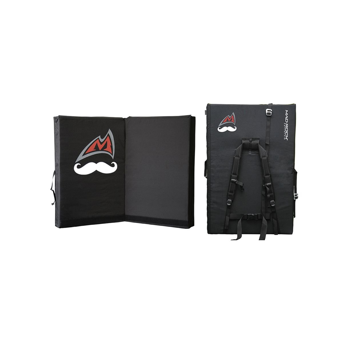 Mad Rock Mustache Mad Pad Black One Size by Mad Rock (Image #1)