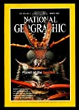 img - for Vol. 193, No. 3, National Geographic Magazine, March 1998: Planet of the Beetles; Marine Sanctuaries; Naples Unabashed; The Rise of Life on Earth; America's First Highway; Nomads of the Arctic book / textbook / text book