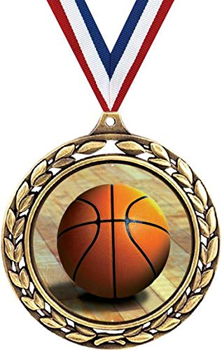 Basketball Medals - 2 1/2