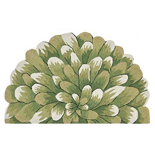 Liora Manne Whimsy Flower Burst Rug, Green, Indoor/Outdoor, 3'