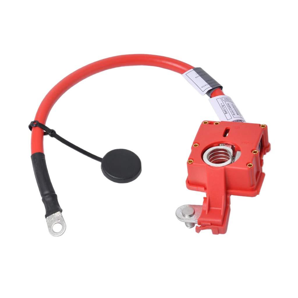 Gazechimp Red Vehicle Positive Battery Cable Lead Adapter for BMW E90 320i 325i E84 X1 by Gazechimp