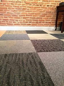 Assorted Carpet Tiles 48 Ft Random Colors Amazon Com