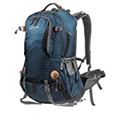 G4Free 45L Outdoor Sports Camping Hiking Waterproof Backpack Rucksack Mountaineering Bag for Traveling Trekking with Rain Cover