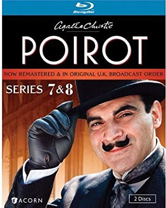 Agatha Christie S Poirot Series 7 8 Blu Ray David Suchet Hugh Fraser Philip Jackson Pauline Moran Movies Tv