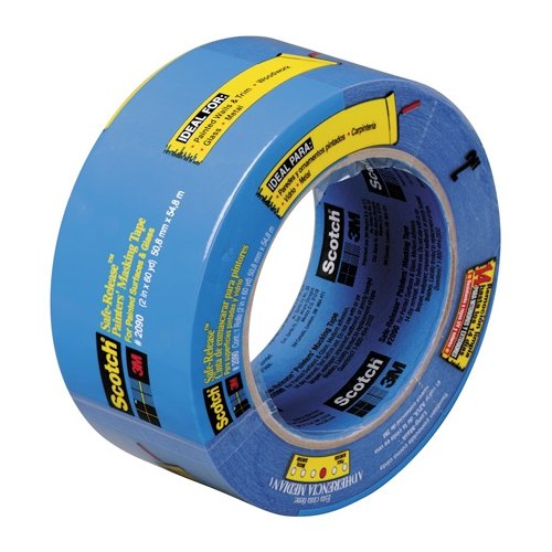 Scotch T937209012PK Masking Tape, 2'' x 60 yd (Pack of 12)