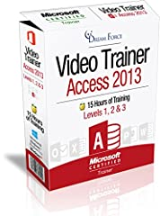 Microsoft Access 2013 training videos are developed and trained by Microsoft Certified Trainer; Kirt Kershaw. With 150 training videos and over 15 hrs of detailed training in Flash and Windows Media Video formats you will have everything you ...