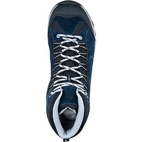 Brütting Mount Bona High botas de senderismo para hombre, color azul - 4433103/39 - azul marino, 45