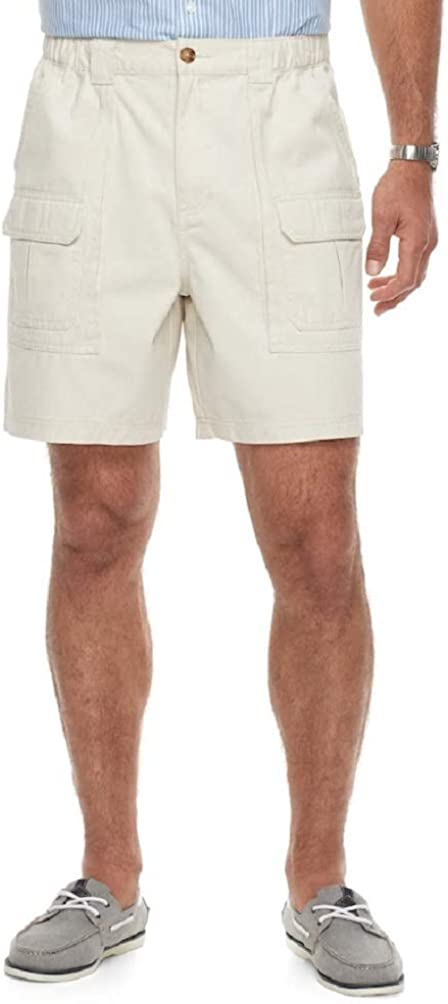 Croft & Barrow Men's Side Elastic Cargo Shorts