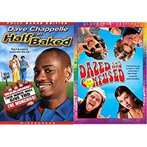 Keep Off The Grass Kids... Dazed and Confused (Flashback Edition) & Half Baked (Fully Baked Edition) 2-DVD Double… | NEW COMEDY TRAILERS | ComedyTrailers.com