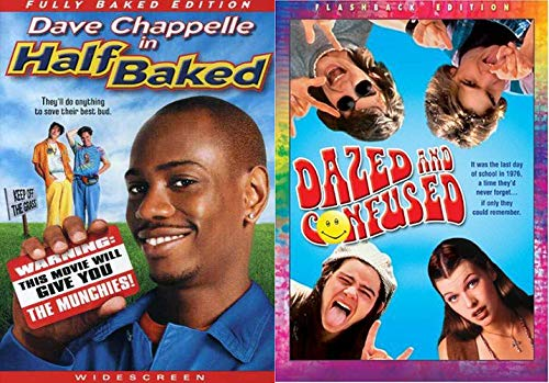 Keep Off The Grass Kids... Dazed and Confused (Flashback Edition) & Half Baked (Fully Baked Edition) 2-DVD Double Feature Bundle | NEW COMEDY TRAILERS | ComedyTrailers.com